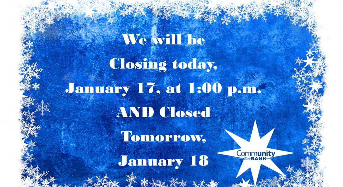 Closing Jan 17